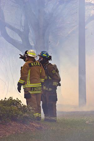 Summerfield Brush Fire
