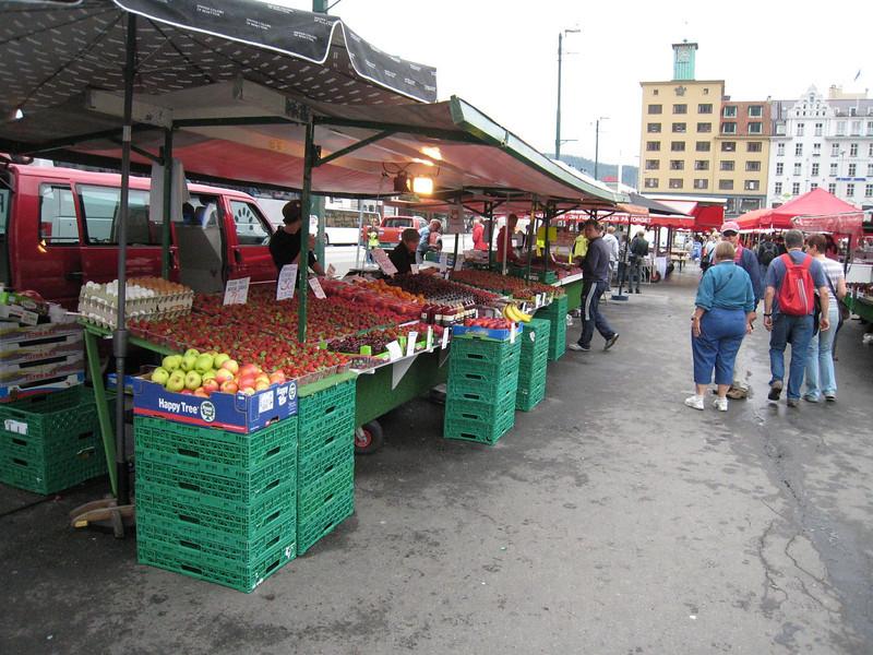 The Market in Bergen