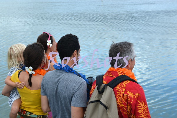 Aloha Swazik to the KYC, 7/20/14 with family and friends