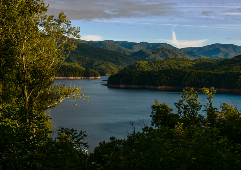 Smoky Mountains/ Fontana Lake