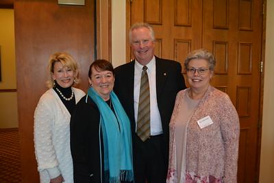 CSF Praises Leiningers for Work in Education