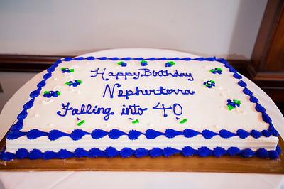 Nepherterra E Best 40th Surprised Birthday Party @ Ruth Chris Uptown 10-26-17 by Jon Strayhorn