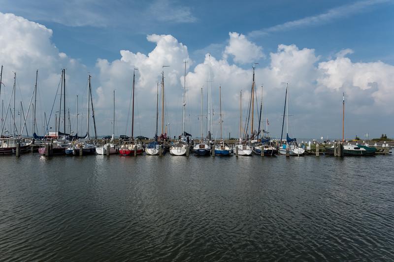 Moored Fishing Boats