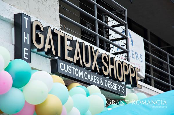 The Gateaux Shoppe Ribbon Cutting
