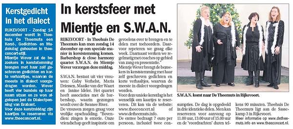 2008-1214 SWAN zingt in de Theemuts