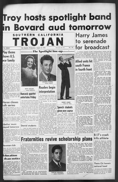 The Trojan, Vol. 35, No. 151, August 16, 1944