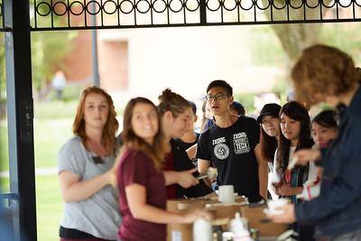 2016 International Student Welcome Ice Cream Social
