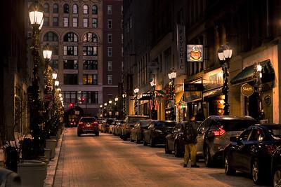 Pratt Street Lights