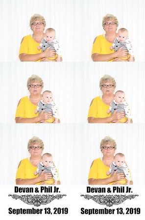 2019-09-13 - Phil Jr. & Devan Maggard Photo Booth