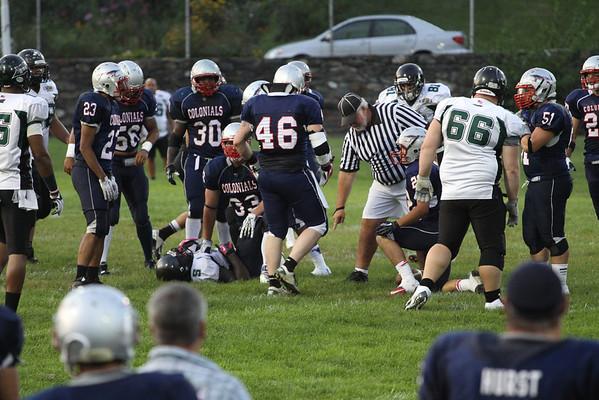 Colonials Football - 8-17-13