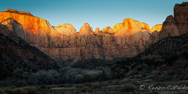 Zion National Park, sunrise