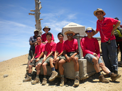 20140621-22 Mt. Baden Powell Backpacking
