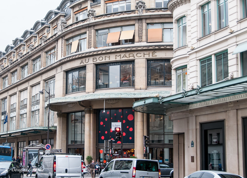 The famous high-end department store, Au Bon Marche