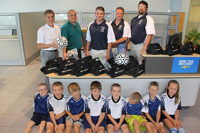 Donation to Tamaqua Area Youth Soccer Association, Fairway Chevrolet, Hazleton (7-24-2013)