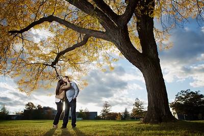 Julee + Will's Engagement :: University of Hartford :: Hartford, CT