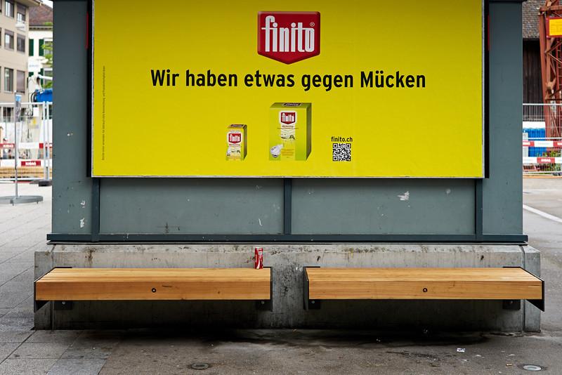 Littering.  Weinfelden, Juli 2013.