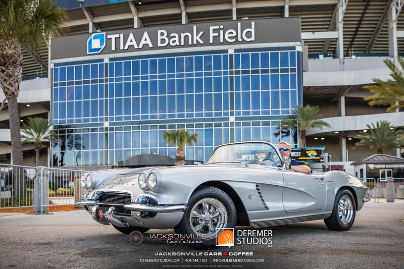 2019 Jax Cars and Coffee at TIAA Field 029 POSED - Deremer Studios LLC