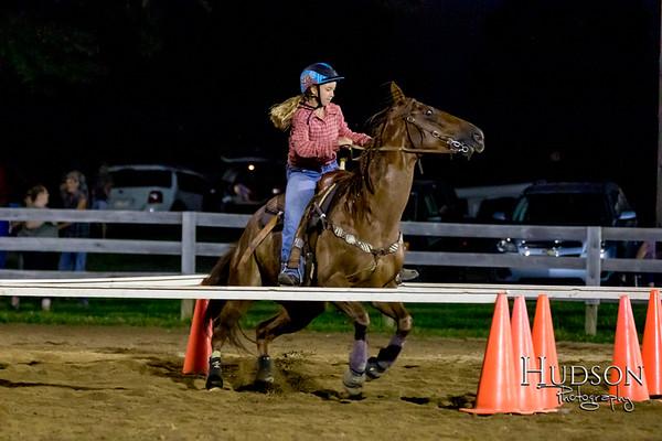 12. Raised Box Keyhole Horse  Jr. Rider