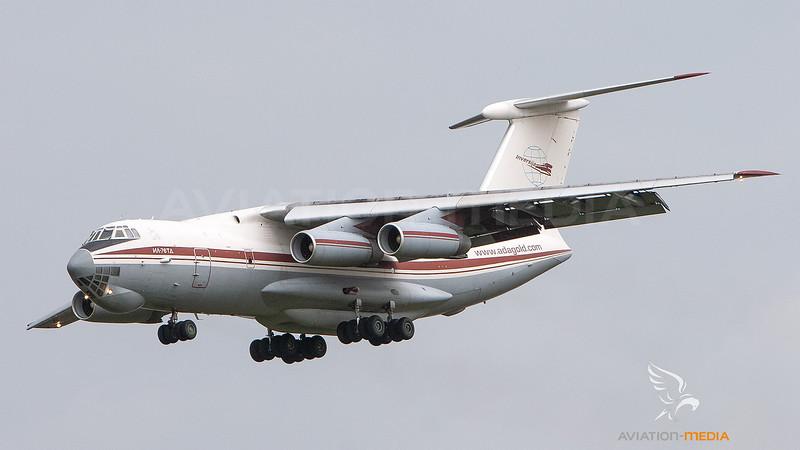 Inversija Air Cargo  Ilyushin Il-76T YL-LAJ