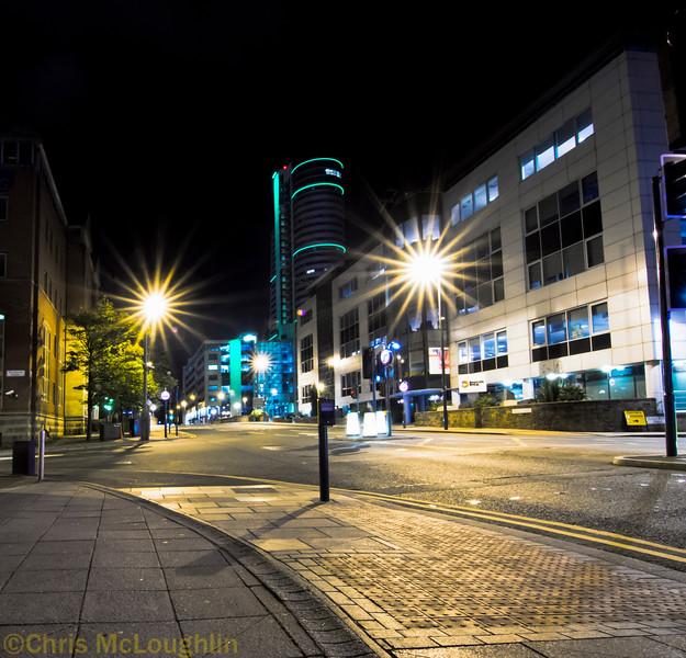 Leeds at daft O'clock in the morning