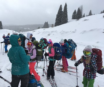 Fourth Grade February 2018 Outdoor Ed hut trips