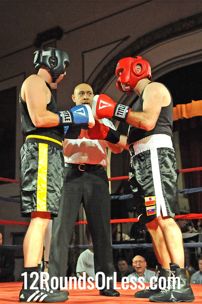 Bout 5 Joe Hurst, West Side BC, strongsville -vs- Damion Ealy, Burnside BC, Youngstown, 178 lbs Masters