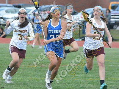 Sharon - Attleboro Girls Lacrosse 5-6-16