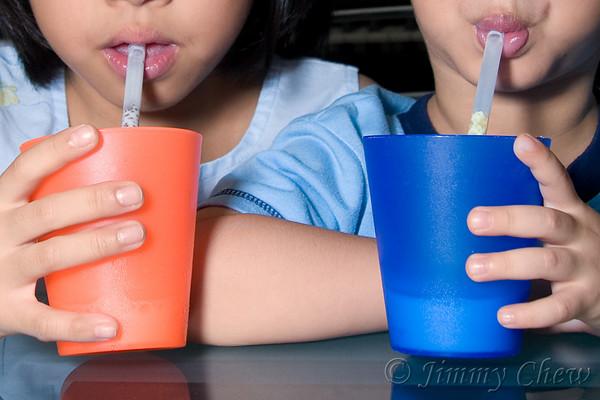 Milk Flavouring Straw