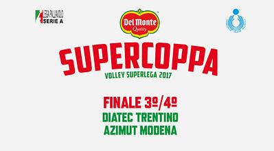 Finale 3º/4º posto «Diatec Trentino - Azimut Modena»