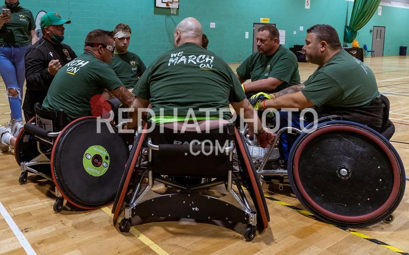 Northampton Saints Wheelchair Rugby, GBWR Big Rugby Return, Midlands Regional Festival, Stoke Mandeville Stadium, 14 August 2021