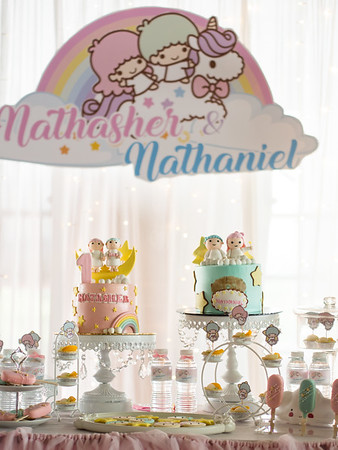 Nathasher & Nathaniel's 1st Birthday Party
