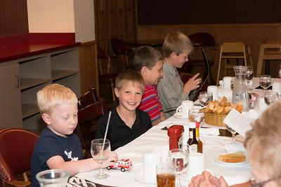 2014-06-02 Family Dinner at Elks Lodge