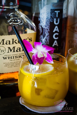 A Smile for our dear friend. Created by John Heckathorn, placed on the Four Seasons Wailea Lobby Bar Menu in his memory. © 2013 Sugar + Shake