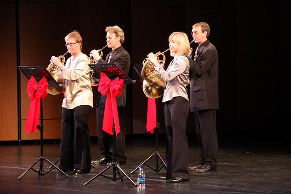 Quadre Xmas concert Dec 8, 2009