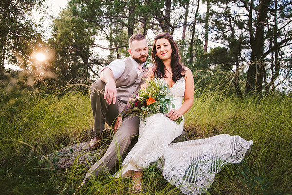 Shelby and Derek   Thumb Butte Wedding
