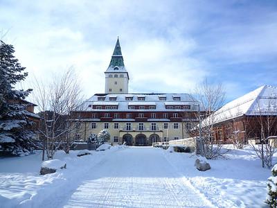 Schloss Elmau - December 2011 - Krün-Elmau, Germany