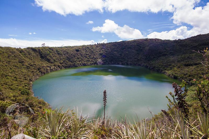 South America Adventure Laguna de Guatavita Colombia