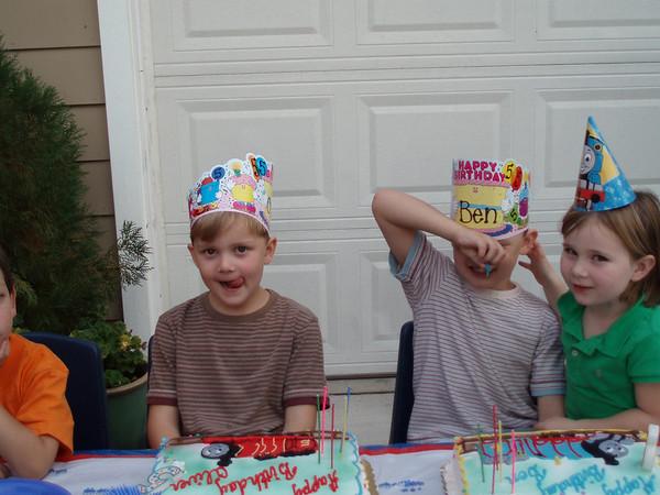 Ben & Oliver's Birthday 10.30.05