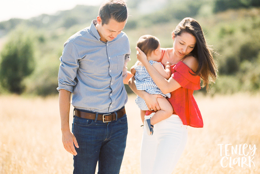 Bay Area fall lifestyle family photography session in Redwood City by Tenley Clark Photography.