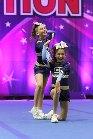 CheerForce WolfPack  Nel & Gabby - Youth Duo 1