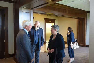 President Fisher meets Secretary Napolitano