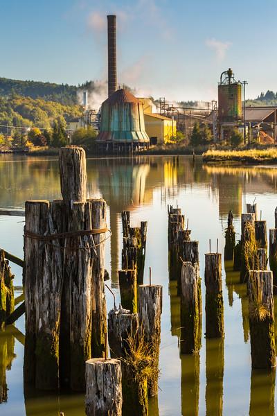 Raymond, Washington Log Mill
