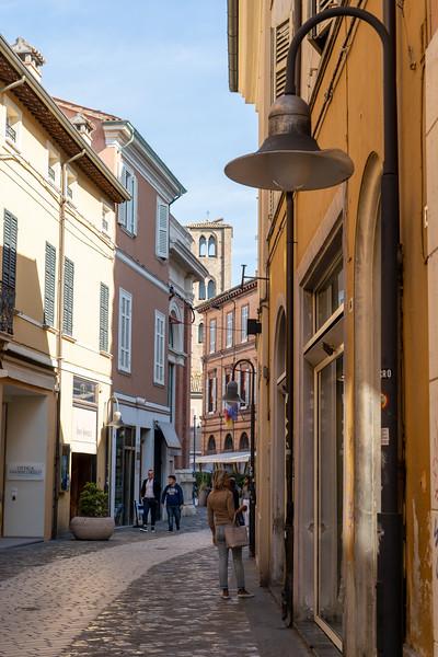 Street in Ravenna, Italy