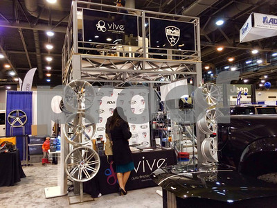 EVS/VIVE Car Show Booth