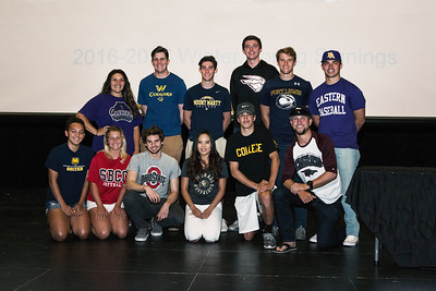 2017 Erie High School College Signing Day Celebration