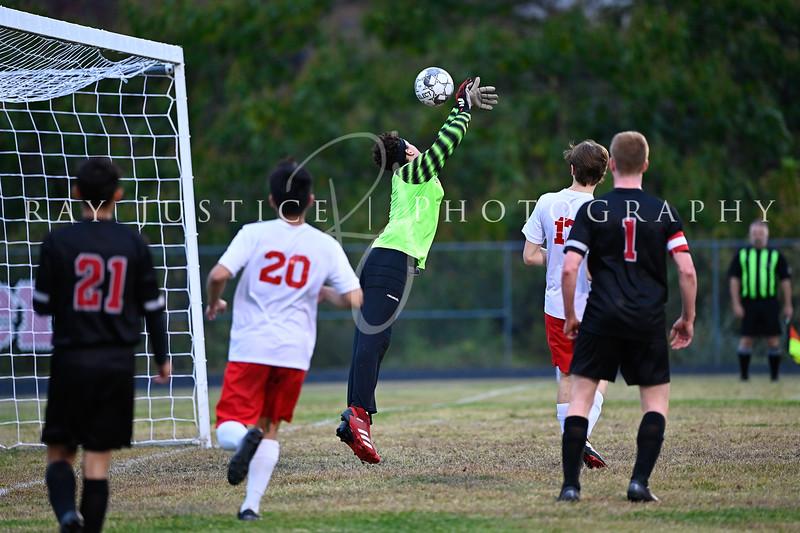 10/19/20 BHS Soccer vs Prestonsburg