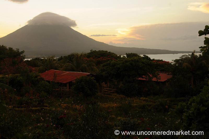Concepcion at Sunset - Isla de Ometepe, Nicaragua