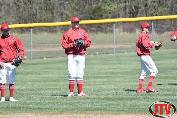 Baseball Hanvover-Horton at Vandercook Lake for 04-13-2021.