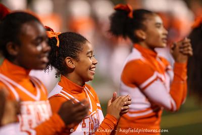 JV Cheer at Washington Lee Football Game 9/20/16