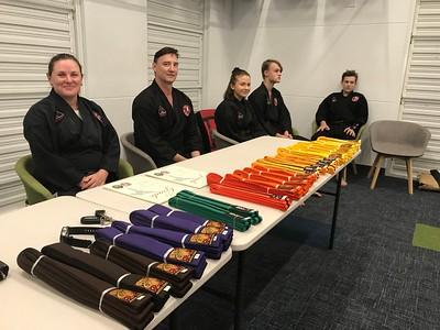 Combat Self Defence Grade Belt Assessments November 2019